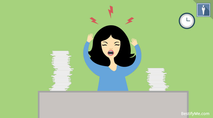 Get rid of frustration